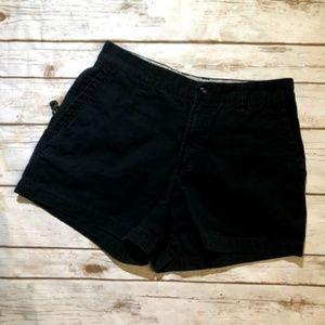 Columbia Black Cotton Cargo Shorts